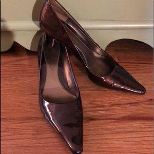 Bandolino Cheetah Bronze Heels - Size 8